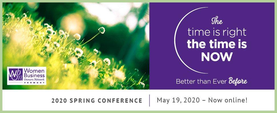 2020 Spring Conference Banner